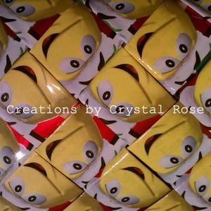 Cand Wrapper Clutch - Handmade